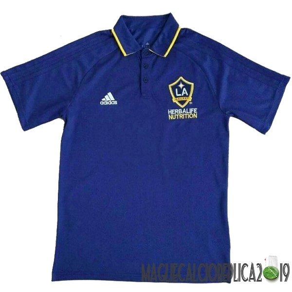 Poco Prezzo adidas Polo Los Angeles Galaxy 17-18 Blu